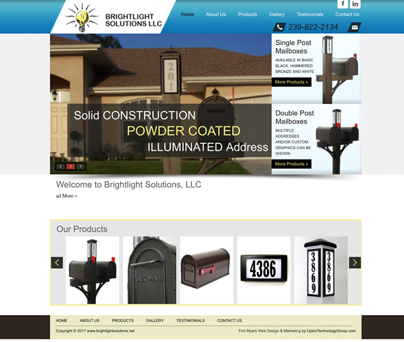 Bright Light Solutions Website