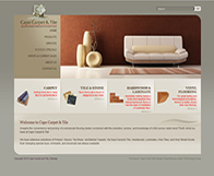 Cape Carpet & Tile Website