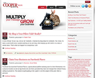 Cooper Group WordPress Blog Design