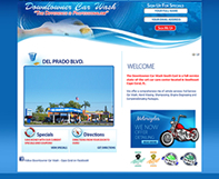 Downtowner Car Wash Website