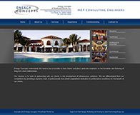 Energy Concepts - Award Winning Website