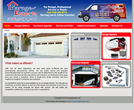 Garage Experts Website