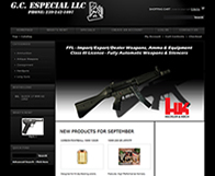 Firearm Website - Magento Shopping Cart