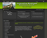 Innovative Business Services Website Design