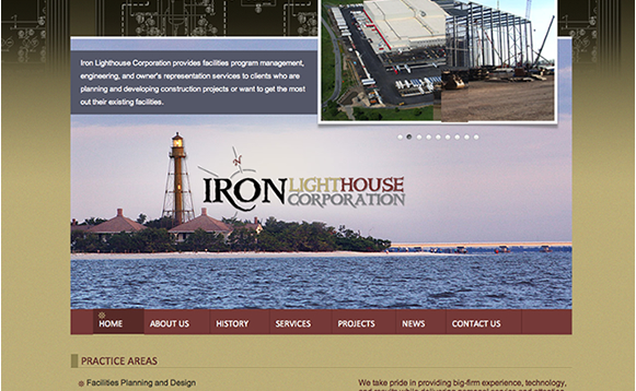 Iron Lighthouse Content Management System Design