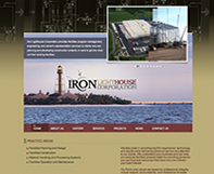 Iron Lighthouse Website