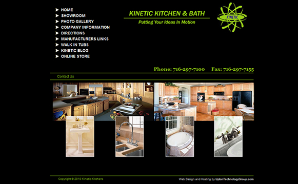 Kitchen & Bath Remodeling Website