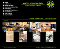 Kitchen & Bath Design Website