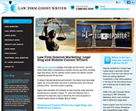 Law Firm Ghost Writer