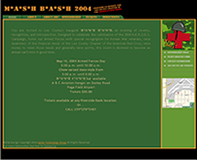 Lee Mash Bash Website