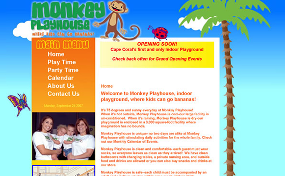 Monkey Playhouse