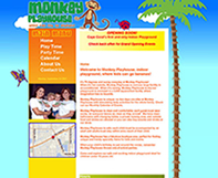 Monkey Playhouse Content Management Design