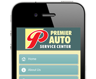 Premier Auto Mobile Website Design