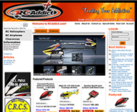 RC Addict OSCommerce Website