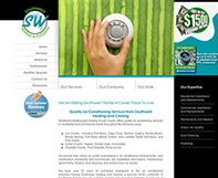 SW Heating & Cooling Website Design