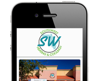 Southwest Heating & Cooling Mobile Website