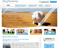 Insurance Website Design