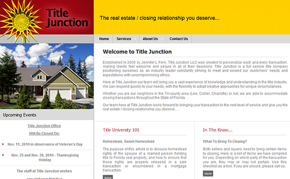 Title Junction Content Management System