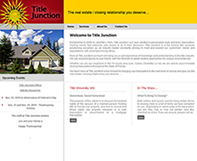 Title Junction Website Design