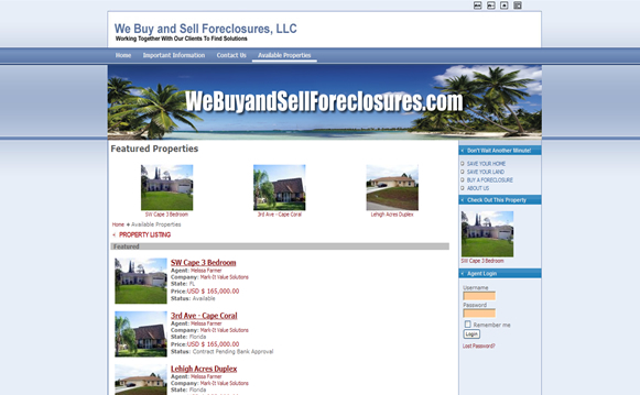 IDX and MLS Website Design