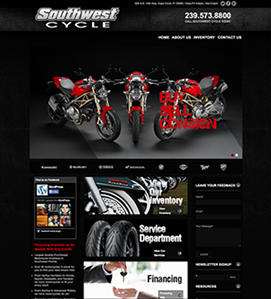 Southwest Cycle - Custom Designed WordPress Site