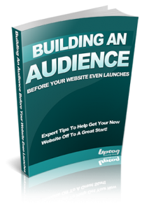 Free eBook, Building Your Website Audience