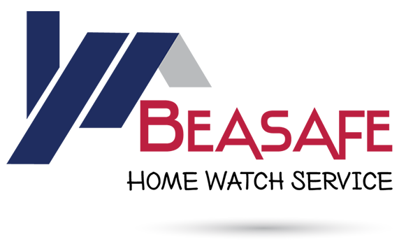 Beasafe Home Watch Logo Design