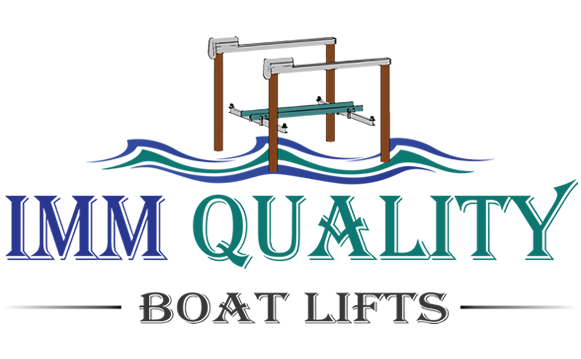 IMM Quality Boat Lifts Logo Design