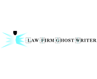 Law Firm Ghost Writer Logo Design