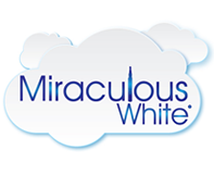 Miraculous White Logo Design