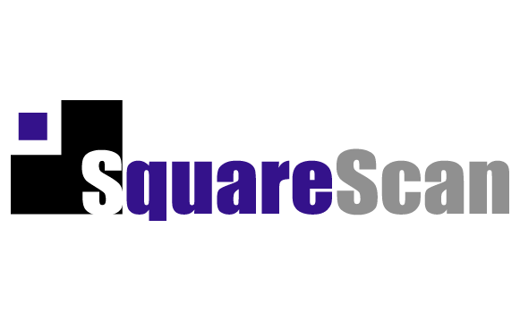 Square Scan Logo Design