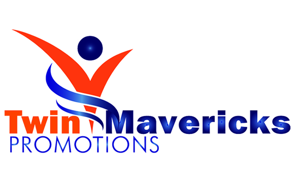 Twin Mavericks Promotions Logo Design
