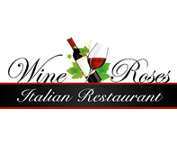 Wine & Roses Logo Design