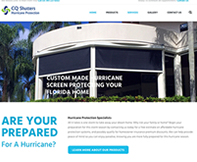 CQ Shutters Website